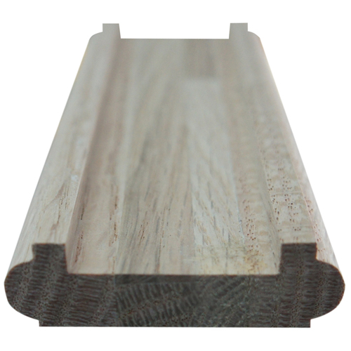 "Oak Shoerail with Fillet - 3/4"" x 2 1/4"" x 10'"