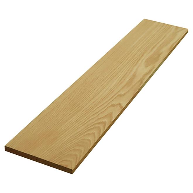 """Oak/Maple Veneer Reversible Stair Riser - 36"""""""