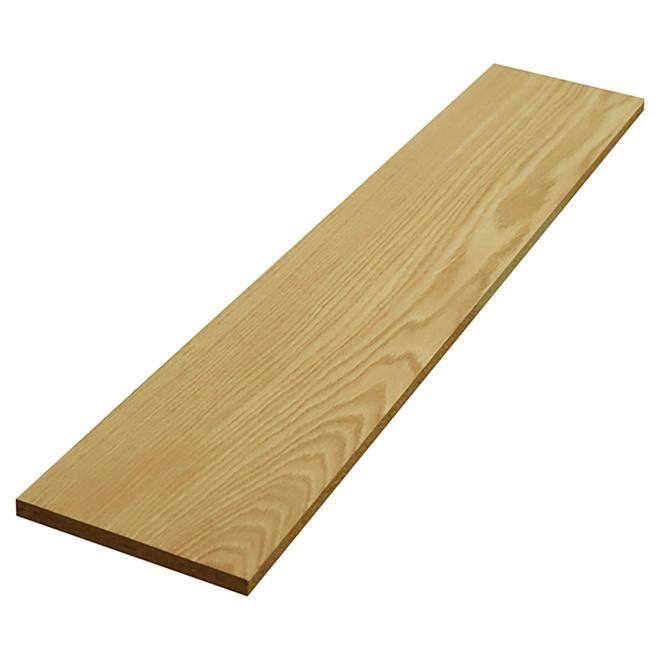 """Oak/Maple Veneer Reversible Stair Riser - 42"""""""