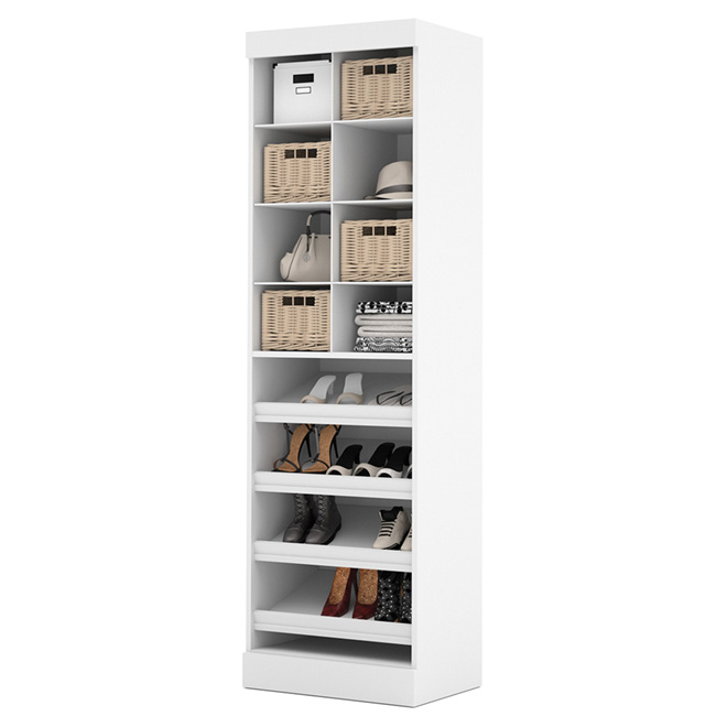 """Pur"" Multi-Storage Cubby Unit - 25"" - White"