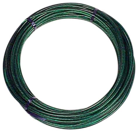 Clothes Line - Steel and Vinyl - 50' - Green