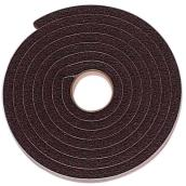 "Weather Strip for Windows/Door- 3/8"" x 8.2' - Black"