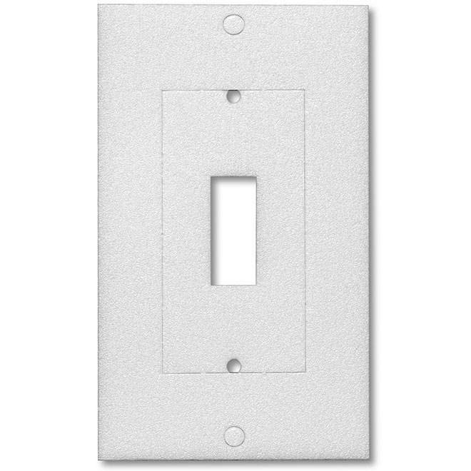 Single Outlet and Wallplate Insulators - 10/Pack