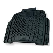 "Car Floor Mat - Rear - 19 3/4"" x 18 1/2"" - Black"