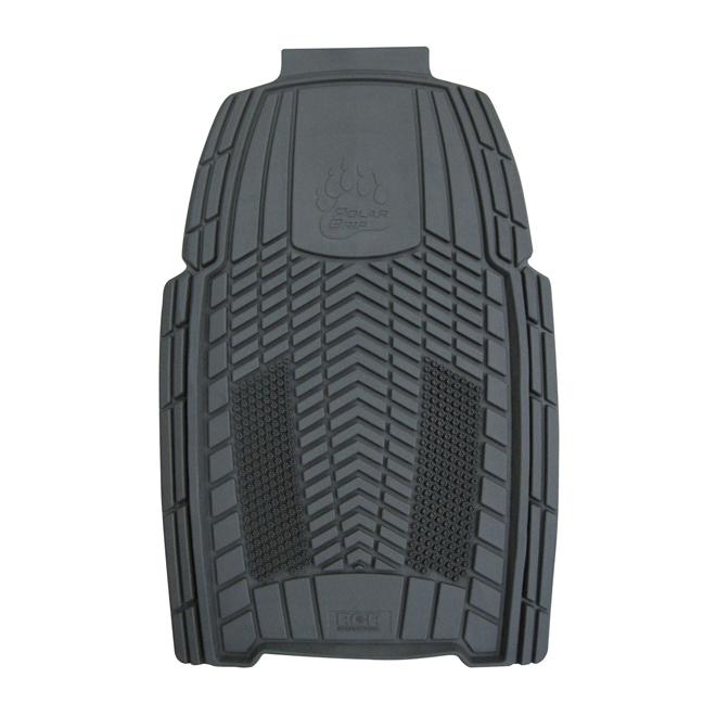 """Car Floor Mat - Front - 20"""" x 31 1/2"""" - Grey"""