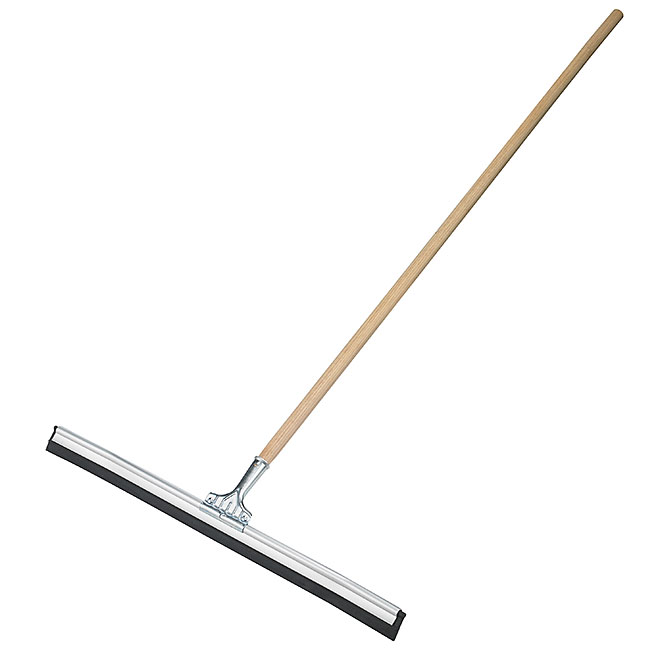 """Floor Squeegee with Handle - Curved - """"Pro-Spec"""" - 30"""""""