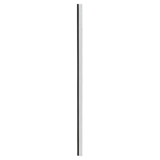 """Door Sweep with EPDM Rubber Insert - Aluminum - 1 3/4""""x 48"""""""