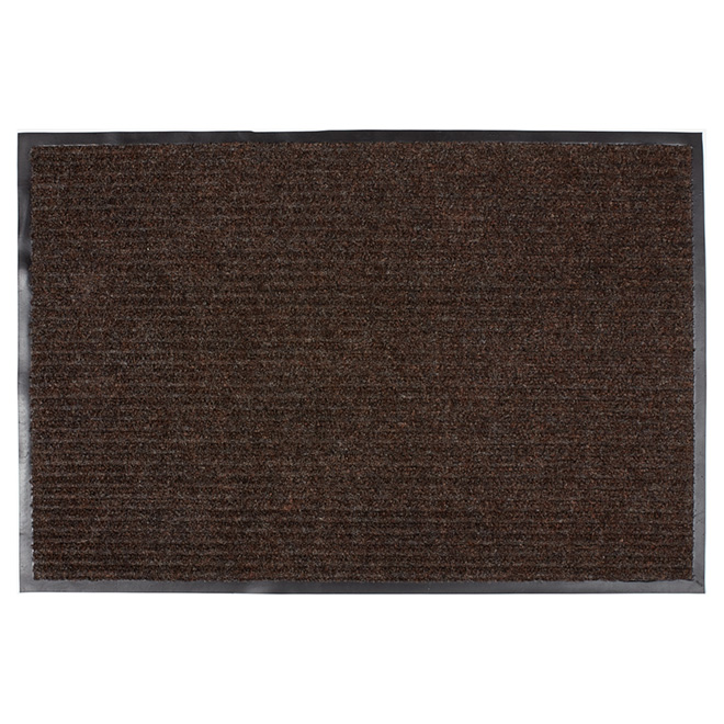 High Grooves Polypropylene Mat - Brown