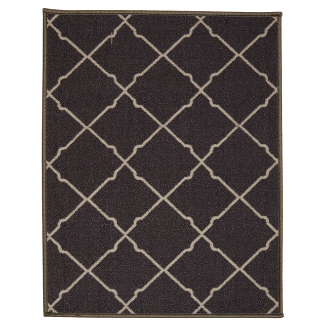 Nylon Decorative Mat - Dark Grey