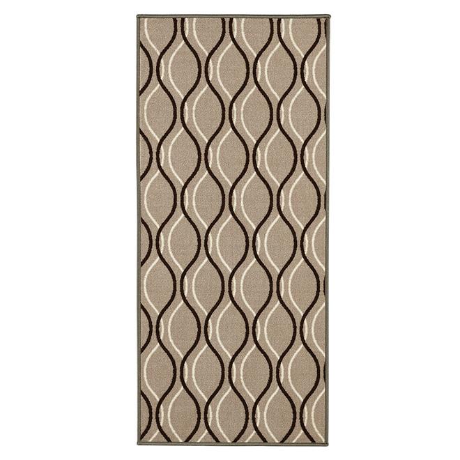 Decorative Nylon Carpet - Beige