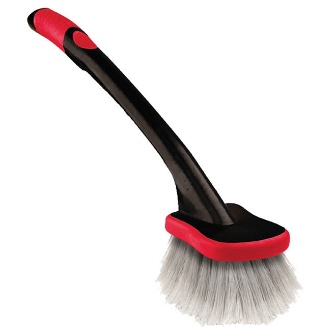 Tire Brush with Long Handle