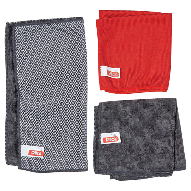 Cloth - 3-Pack Microfiber Cleaning Cloths