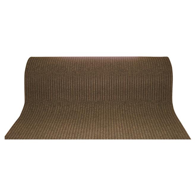 "Utility Carpet Runner - ""Siamese"" - 48"" x 82' - Brown"