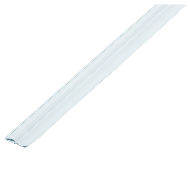 Door Sweep Weather Strip - Vinyl - Double Insulation - 36""