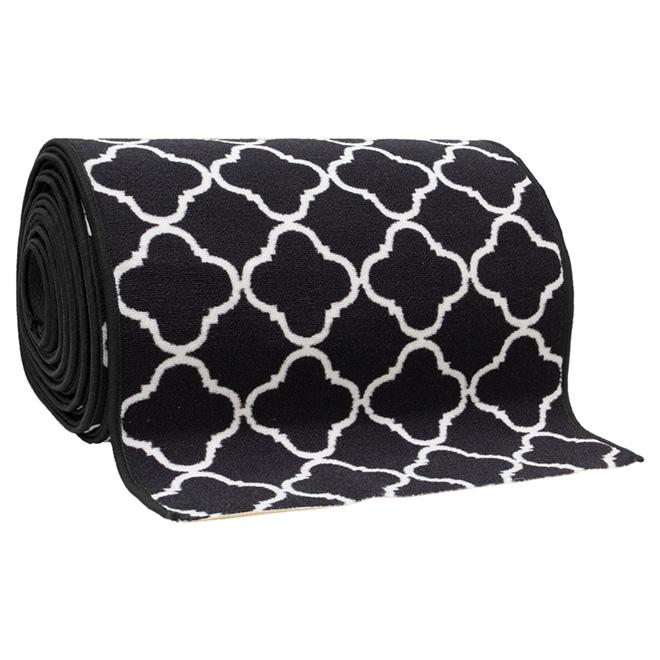 Decorative Carpet Runner - Black - 26''