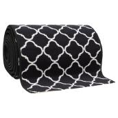 Decorative Carpet Runner - Black - 26''