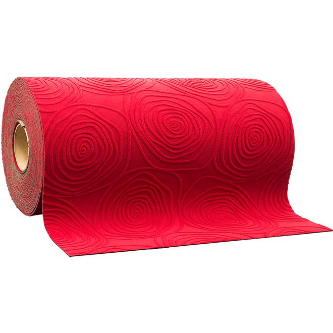 """Runner - Jacquard Style - Stile - 26 3/8"""" - Red"""
