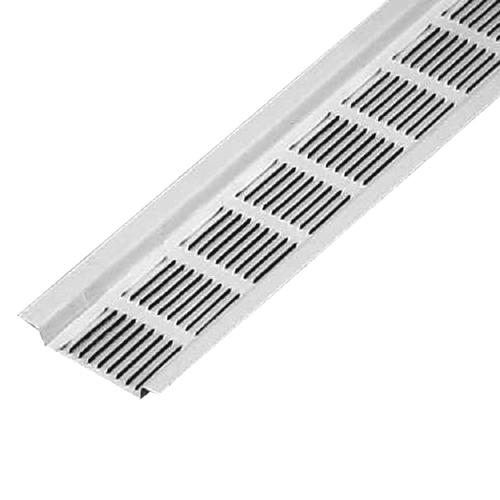 Master Flow Aluminum Under Eave Soffit Vent 8 White
