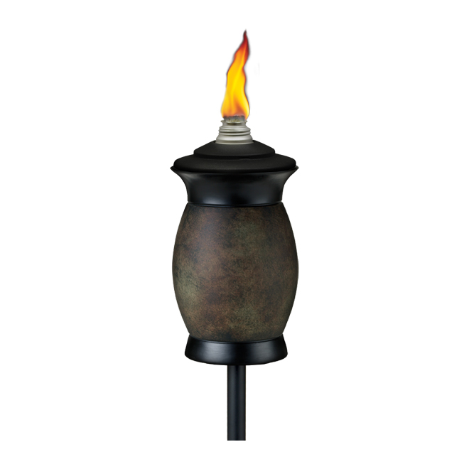 Garden Torch - 4-in-1 - Grey/Black