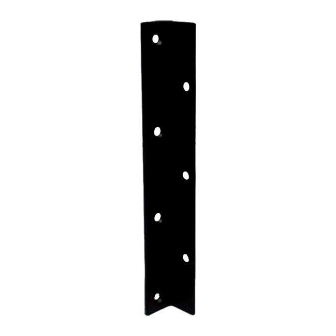 """Steel Angle - 10"""" x 1 1/4"""" x 1/8"""" - 1/4"""" Holes - Countersunk"""