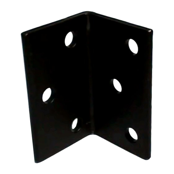 "Steel Angle - 5"" x 3"" x 1/4"" - 9/16"" Holes"