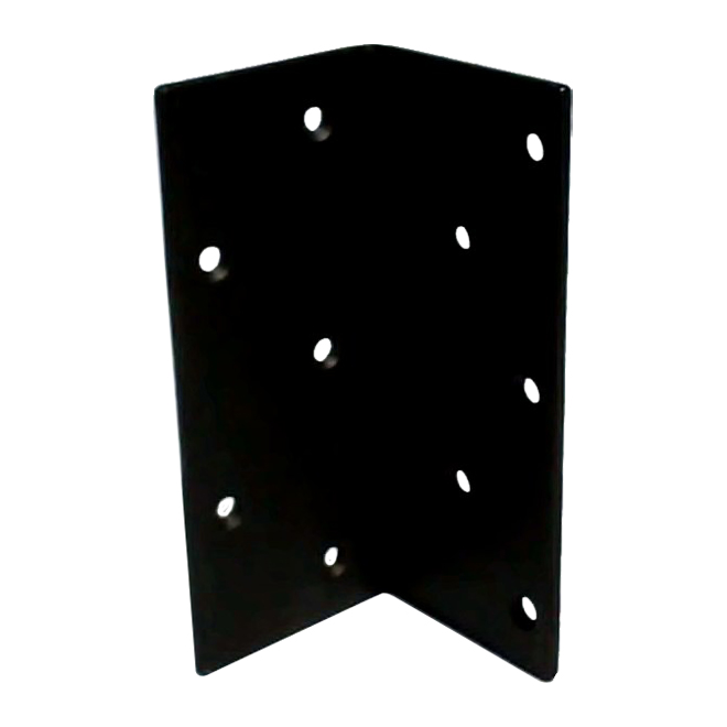"""Steel Angle - 7"""" x 3"""" x 3/16"""" - 9/32"""" Holes - Countersunk"""