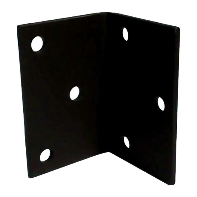 "Steel Angle - 6"" x 4"" x 1/4"" - 9/16"" Holes"