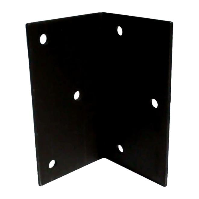 "Steel Angle - 7"" x 4"" x 3/16"" - 13/32"" Holes"