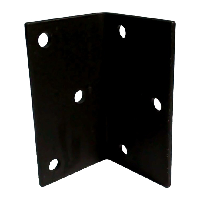 "Steel Angle - 7"" x 4"" x 1/4"" - 9/16"" Holes"