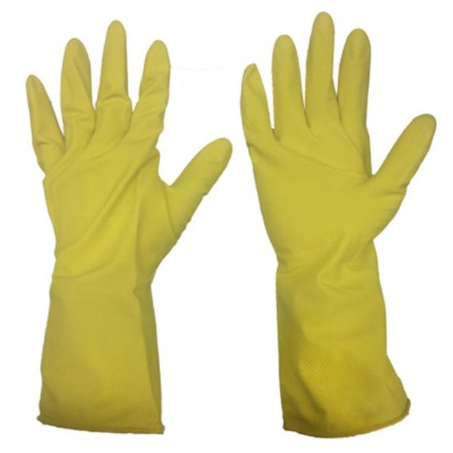 Men's Latex Gloves - S-M - Yellow