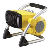"Pivoting Utility Heater - 900-1500 W - 12"" - Yellow"