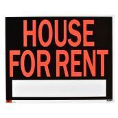 Écriteau anglais « House for Rent », taille jumbo