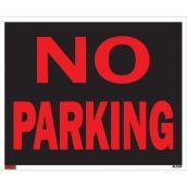 Écriteau anglais « No Parking », jumbo