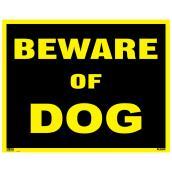 """Beware of Dog"" Sign - 19"" x 24"""