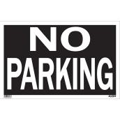 """No Parking"" Sign - Mini-Jumbo"