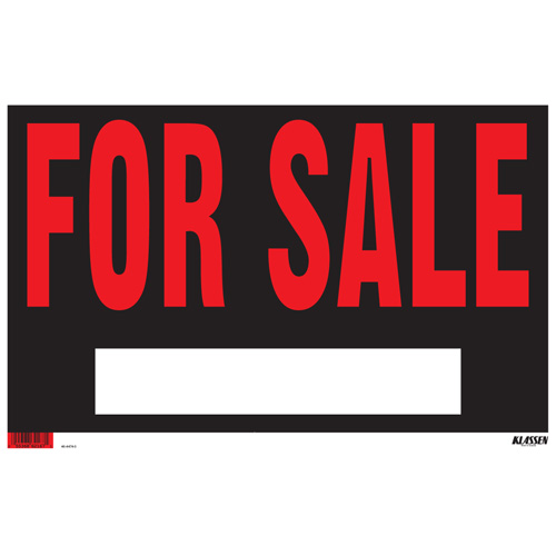 "Sign - ""For Sale"" Sign"
