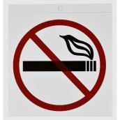 "Identification « Défense de fumer » en plastique, 3 1/2"""