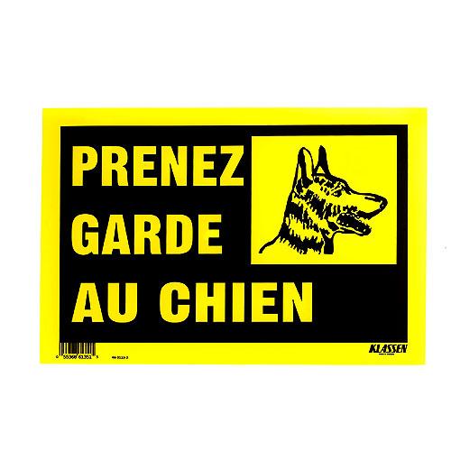 """""""PRENEZ GARDE AU CHIEN"""" Sign"""