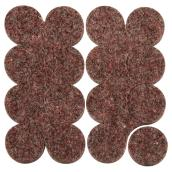 Industrial Strenght Felt Pads - Round - 1