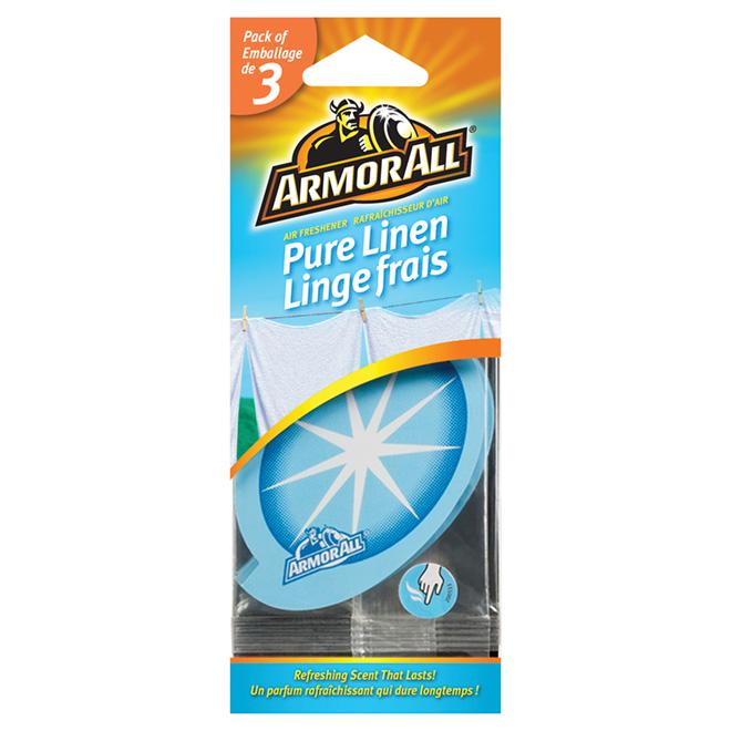 "Car Air Freshener ""Pure Linen"", 3-Pack"
