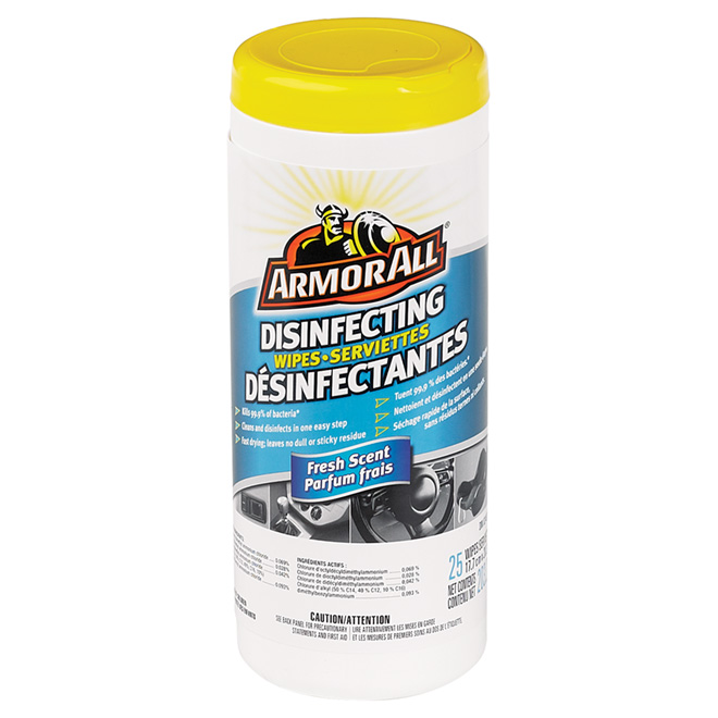 """""""Armor All"""" Original Protectant Wipes, 25-Pack"""