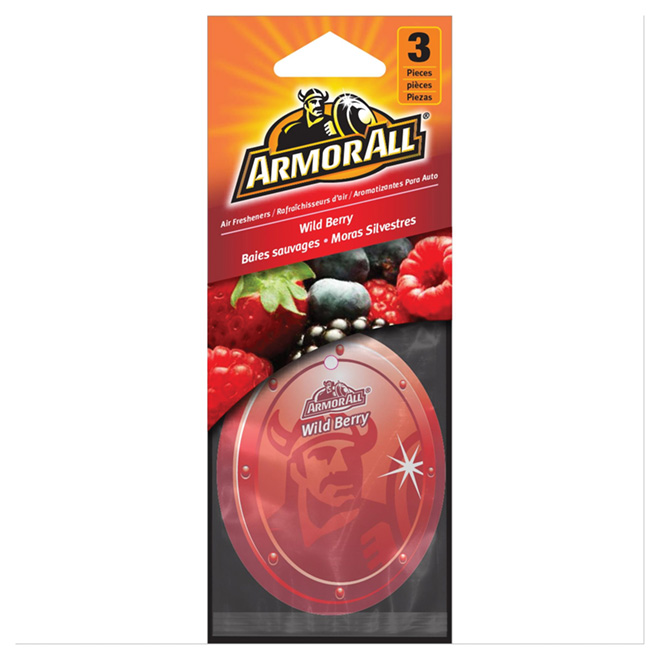 Air Freshener for Car in pack of 3 - Wild Berry