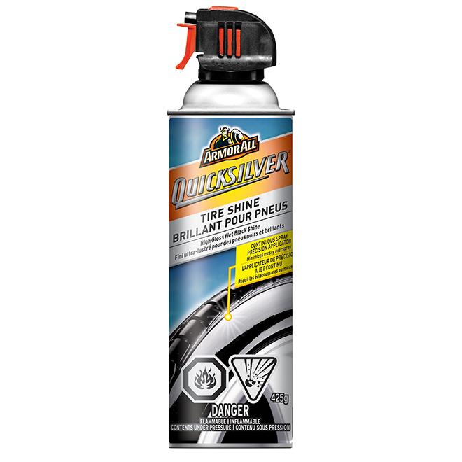 Brillant pour pneus Quicksilver, fini ultra-lustré, 425 g