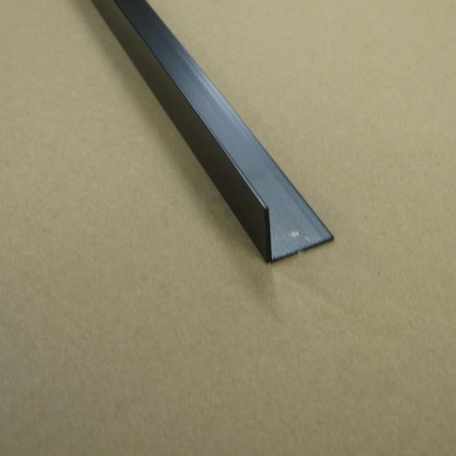"""Outside Angle Moulding - 1"""" x 1"""" 8' - Mira Black"""