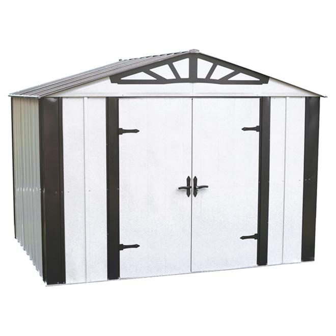 ARROW STORAGE Remise de jardin en acier galvanisé, 10\' x 8\' DS108 | RONA