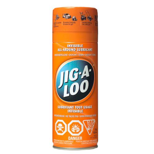 """Lubricant - """"Jig-A-Loo"""" Spray Lubricant"""