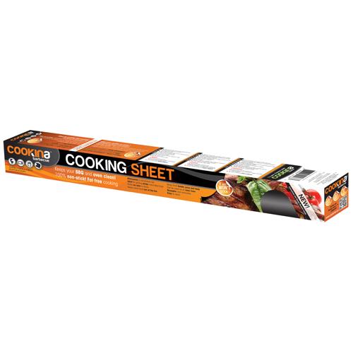 """Cookina Cooking Sheet - 15.75"""" x 19.68"""" - Reusable - Black"""