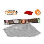 Feuilles de cuisson en mailles Cookina, réutilisables, 15,75 po x 15,75 po