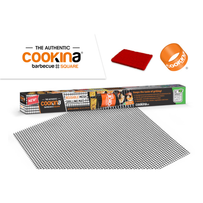 Cookina Mesh Baking Sheets - Reusable - 15.75-in x 15.75-in