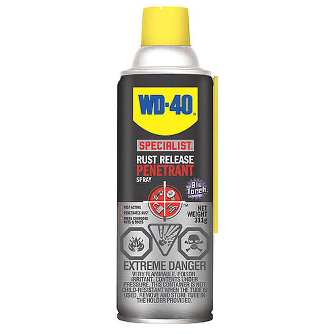 Rust Release Spray with Blu Torch - 311 g